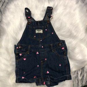 OshKosh jean overalls